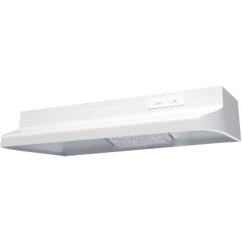 "Air King Ventilation  660632K Range Hood, Convertible 30"" ~ White 660632K"