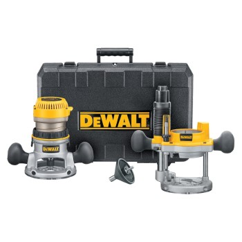 DeWalt DW616PK Router Combo Kit,  1 3/4 HP