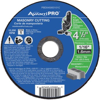 4.5in. Msn Ct Disc