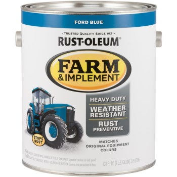 Farm & Implement Finish, Ford Blue ~ Gallon