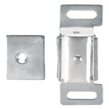 Chrome Double Magnet Cabinet Catch