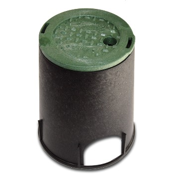 "Round Irrigation Control Box ~ 6"" Round"