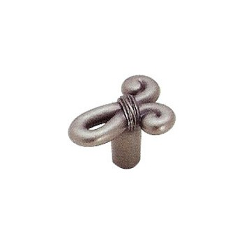 Knob - Cyprus Knot - Weathered Nickel Finish