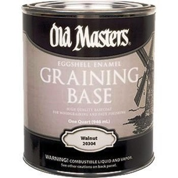 Graining Base, Walnut ~ Quart