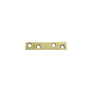 Brass Mending Brace, Visual Pack 118 3 x 5/8 inches
