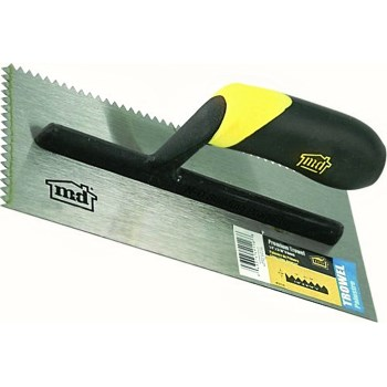 "Futura V-Notch Trowel ~ 4"" x 10"""