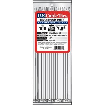 8in. 100pk Cable Ties