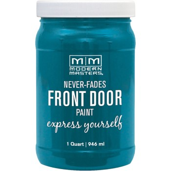 Express Yourself Front Door Satin Paint, Tranquil ~ Quart