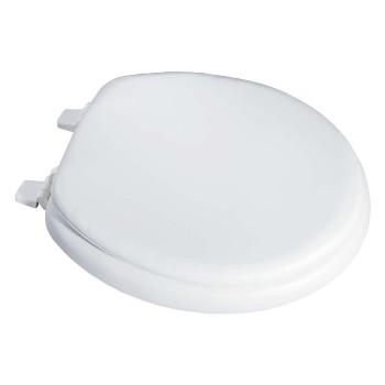 LDR  0501067WT Toilet Seat, Round-Soft