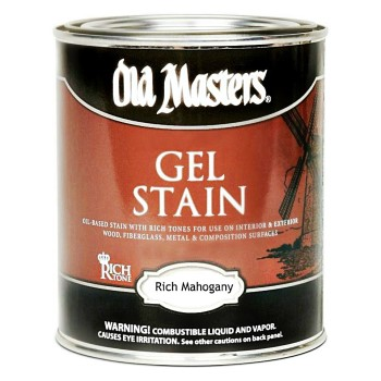 Gel Stain, Rich Mahogany ~ Quart