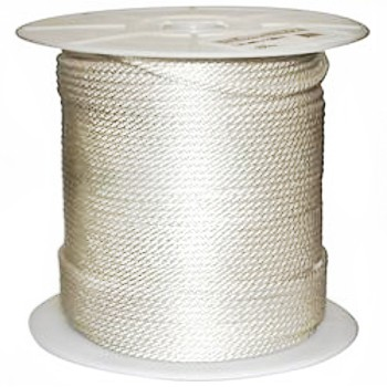 "Solid Braided Nylon Rope ~ 3/8"" x 500 Ft"