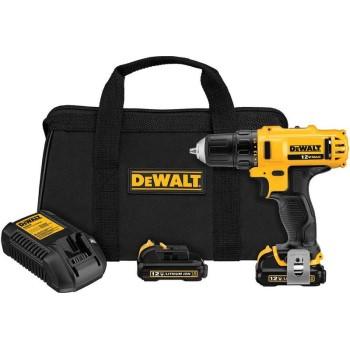 Dewalt Dcd710s2 12v Drill Driver Kit