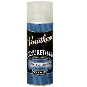 Rust-Oleum 200081 Varathane Heavy Use Formula Spray Polyurethane, Clear Gloss ~ 11.25 oz Cans