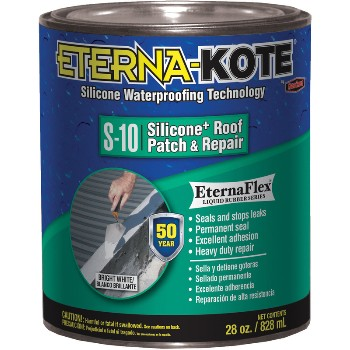 Roof Patch & Repair, Silicone ~ Quart