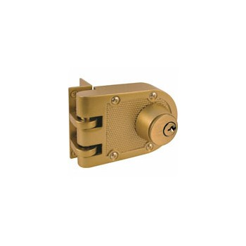 Double Cylinder Deadlock, Brass