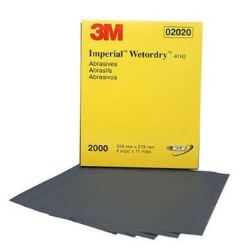 "Wet Or Dry Sandpaper, 9"" x 11"" ~  Pack of 50 Sheets"