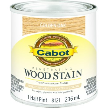 Wood Stain - Golden Oak - 1/2 pint