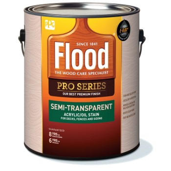 Pro Series Semi-Transparent Acrylic/Oil Stain,   Neutral Tint Base ~ Gallon (3.78 L)