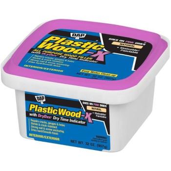 DAP 00543 Plastic Wood X, Natural ~ 32 oz.