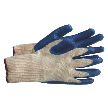 Large Blue Latex Glove
