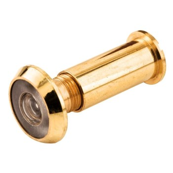 PrimeLine/SlideCo S4020 Door Viewer, Brass ~ 190 Degree