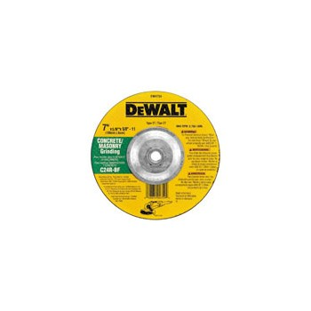 Masonry Grinding Wheel, Depressed Center 7 x 1/8  x 5/8 inch