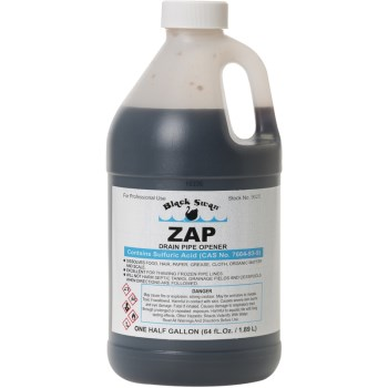 ZAP Drain Pipe Cleaner ~ 64 oz