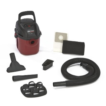 Shop Vac 2021000 Wet Dry Shop Vacuum, Corded - 1 Gallon