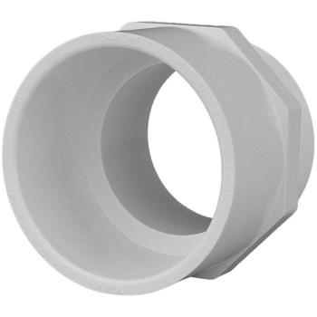 Schedule 40 PVC Pipe Male Adapter ~ 3/4""