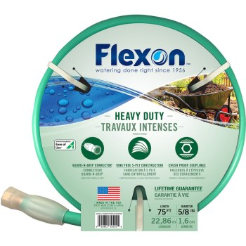 Flexon Industries FXG5875 5/8in. X75ft. Hd Hose