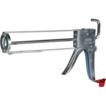 E-Z Caulk Gun ~ 1/10 Gallon Cartridge Size