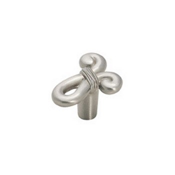 Knob - Cyprus Knot - Satin Nickel Finish