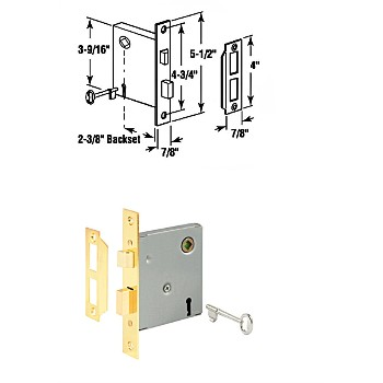 "Motise Lock Assembly ~ For 1/4"" to 5/16"" Shaft"