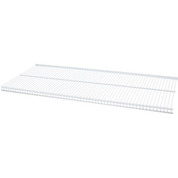 "Ventilated Shelf, White ~ 36"" x 12"""