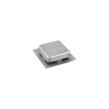 Air Vent 85150 Roof Vent - Square Aluminum