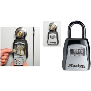 Portable Lock Box Key Storage Security  Safe
