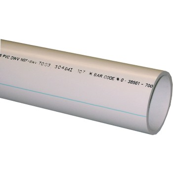 Schedule 40 PVC-DWV Pipe ~ 3  x 5 Ft.  sc 1 st  Hardware World & Schedule 40 PVC-DWV Pipe u0026amp; PVC Fittings u0026ndash; 3- to 4-inch ...