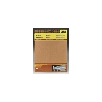 "3M 051144090372 Garnet Mineral Sandpaper Sheets, Medium Grit ~ 9"" x 11"""
