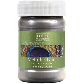 Metallic Paint, Platinum ~ 6 Ounce