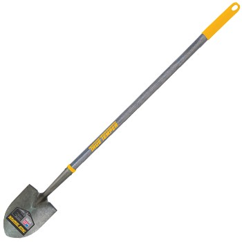 Shovel, Long Round Point ~ 16 Gauge