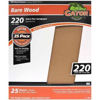 "Ali Industries 4223 Garnet Sandpaper, 220 Grit ~ 9"" x 11"""