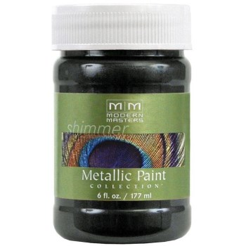 Metallic Paint - Black Pearl / Semi-Opaque - 6 oz