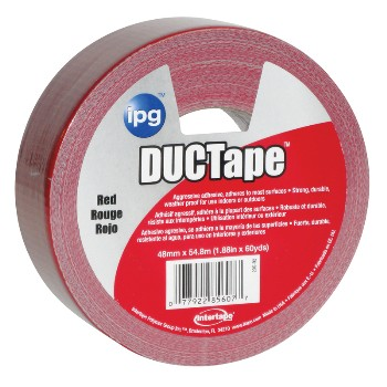 Duct Tape 20C-R-2, Red 2 inch x 60 yd