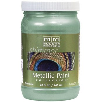 Metallic Paint, Teal 32 Ounce
