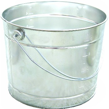 Metal Pail w/handle ~ 5 Quart