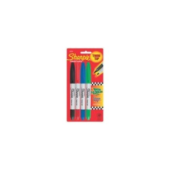 Sharpie, Twin Tip 4 Pack