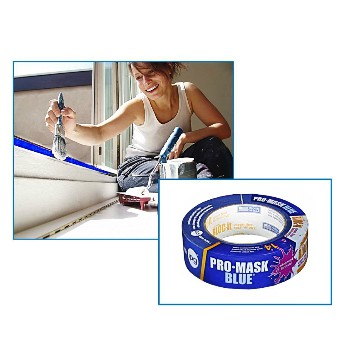"Pro-Mask Blue Tape ~ 1.40"" x 60 Yds"