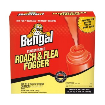 Bengal  55201 Bengal Concentrated Roach & Flea Fogger Pack ~ 2.7 oz Cans