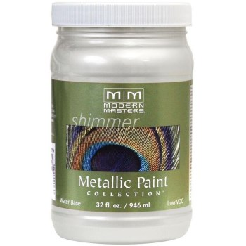 Metallic Paint, Pearl White 32 Ounce