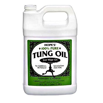 Tung Oil, 100% Pure ~  One Gallon